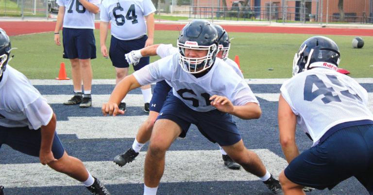 Training Camp Underway For Smithson Valley Football